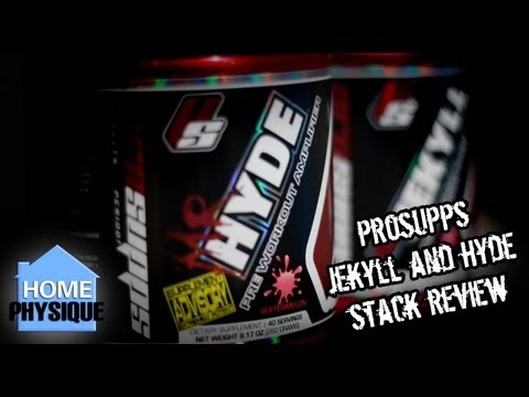 ProSupps Jekyll and Hyde Stack | Pre Workout Supplement Review