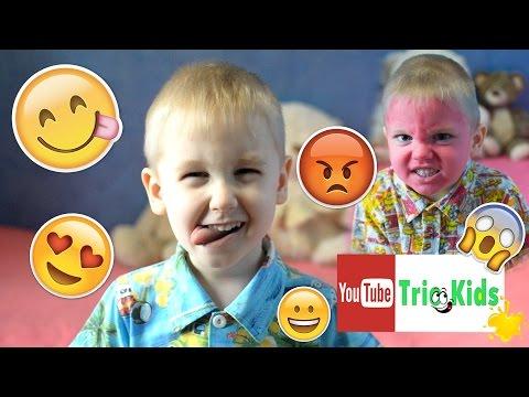 СМЕШНОЕ ВИДЕО!!! ЛИЦА - СМАЙЛЫ!!! Развиваем мимику. FUNNY VIDEO!!! FACES - SMILES!!!