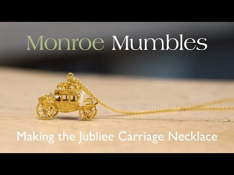 Monroe Mumbles Ep 7 - Making a Jubilee Carriage Necklace for Buckingham Palace.