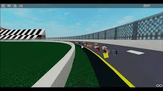 Roblox Nascar Sim Spirit Cup Racing at Daytona 500 Race #1