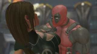 Deadpool: The Game - Deadpool saves Rogue, Rogue becomes Lady Deadpool