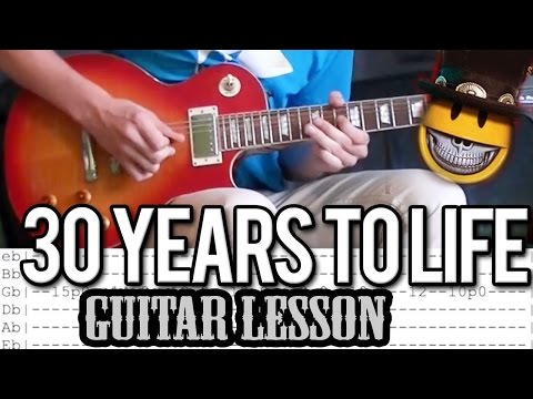 Slash - '30 Years To Life' FULL Guitar Lesson (With Tabs)