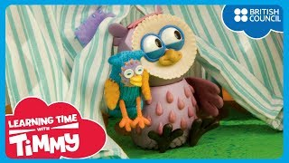 Mari membuat rumah-rumahan [Let's Make a Den] | Learning Time With Timmy