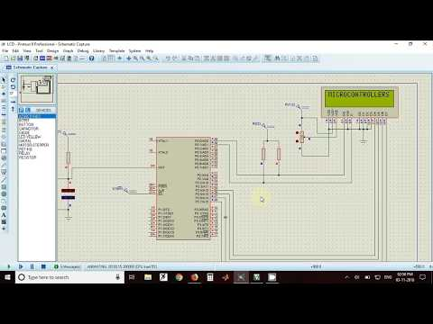 LCD interfacing with AT89C51RD2 microcontroller