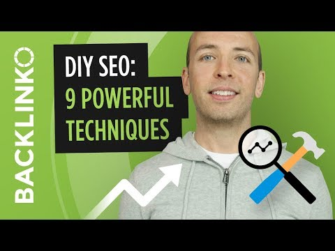 DIY SEO: 9 Powerful Techniques