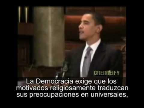 Obama - Discurso sobre religión (subtitulado)