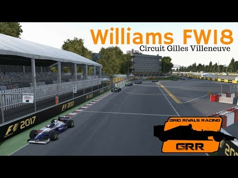 F1 2017 (PC) - GRR Event #3 FW18 - Canada