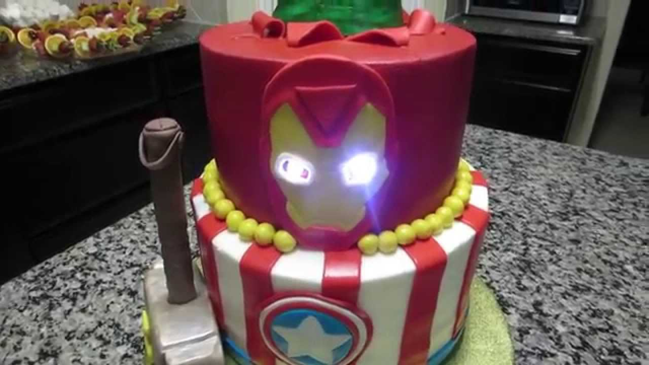 How to make a Fondant Iron Man Face cut out YouTube