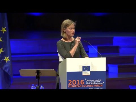 Talent and creativity for a stronger and more inclusive Europe  - speech by Mogherini