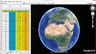 Extracting Coordinates From Google Earth To Excel
