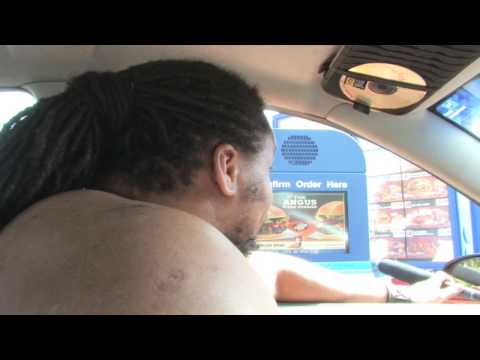 Mr Pregnant Goes To Burger King