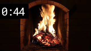 2 Minute Timer - Countdown with Fireplace
