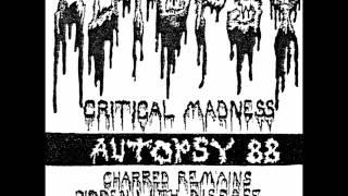 Autopsy 1988 Demo - Critical Madness