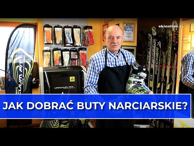 Jak dobierać/kupować buty narciarskie - doradza Marek Żurawiecki