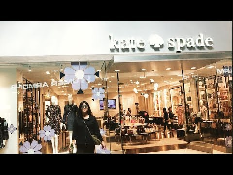 OUTLET MALL SHOPPING KATE SPADE MICHAEL KORS