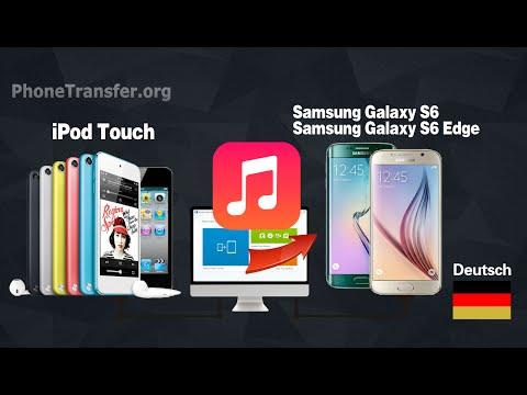 sync ipod songs mit galaxy s6 wie man musik von ipod touch auf samsung galaxy s7 s6. Black Bedroom Furniture Sets. Home Design Ideas