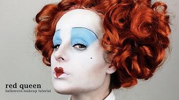 Red Queen (Alice In Wonderland) - Halloween Makeup Tutorial (by jen pike)