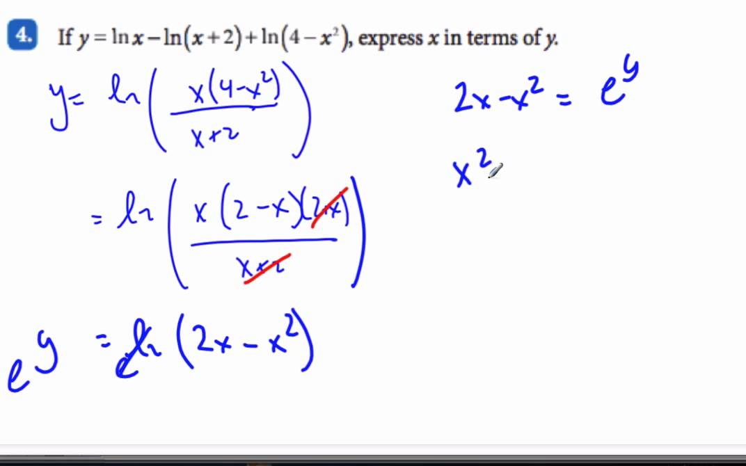 ib math log investigation How are the exponential and logarithmic functions related 3 how are  how can we rewrite expressions involving logarithms 5 what sorts of  investigation.