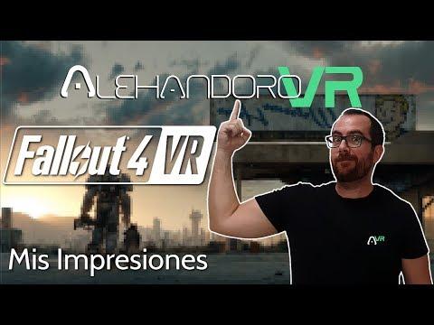 FALLOUT 4 VR ¿MERECE LA PENA? AQUÍ MIS IMPRESIONES - Realidad Virtual en Español