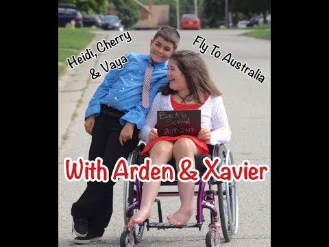 Heidi, Cherry & Vaya Fly To Australia With Arden & Xavier - Children's Bedtime Story/Meditation