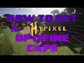 How to get a Hypixel cape/banner design