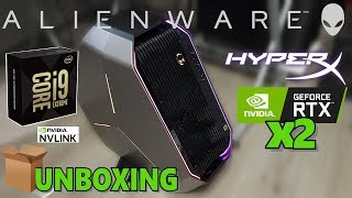 UNBOXING PC: i9 9980XE - Sli RTX 2080 Ti + Benchmark / Area 51 - ALIENWARE