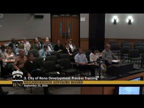 Neighborhood Advisory Board - Training