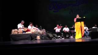 KS CHITHRA great performance. ORE SWARAM show USA 2013