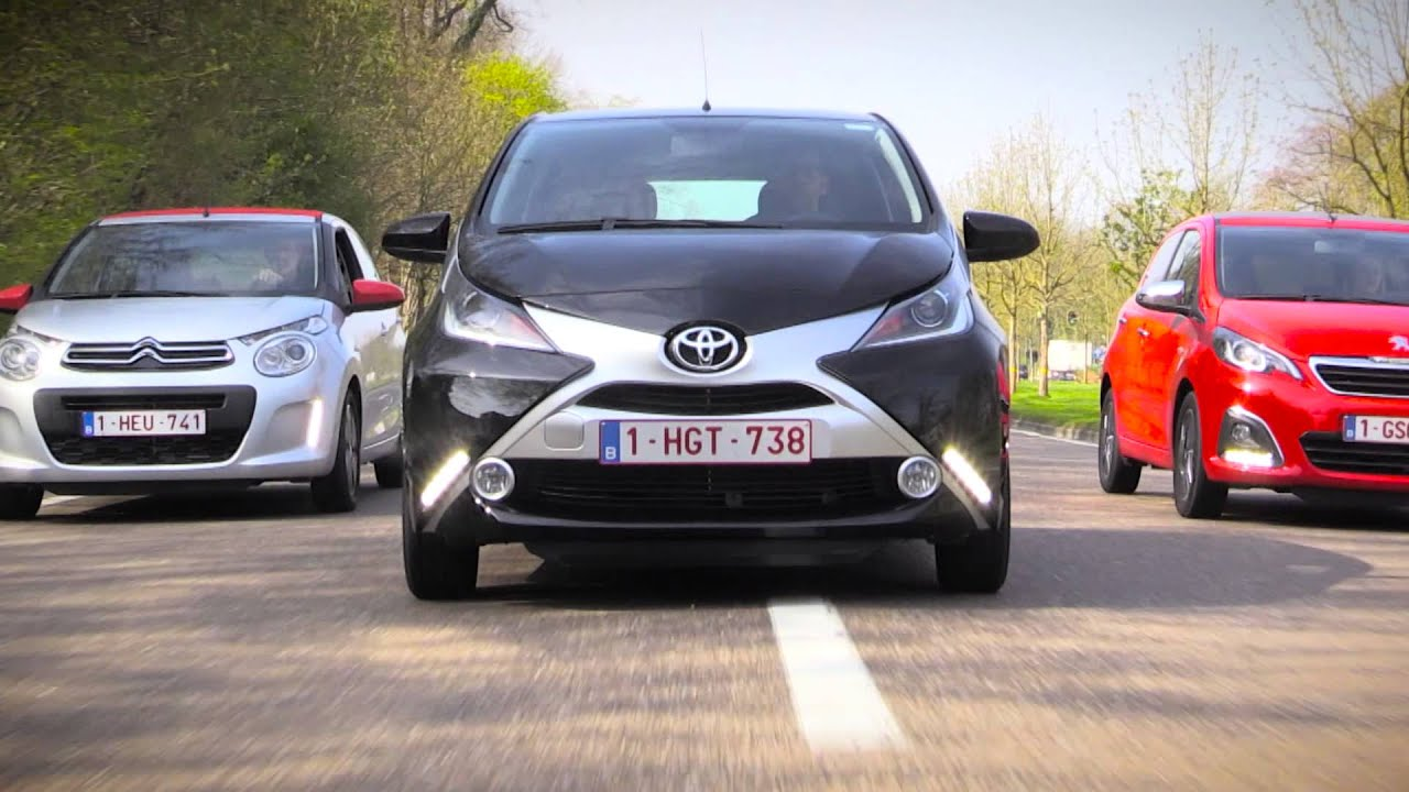 citro n c1 toyota aygo of peugeot 108 youtube. Black Bedroom Furniture Sets. Home Design Ideas