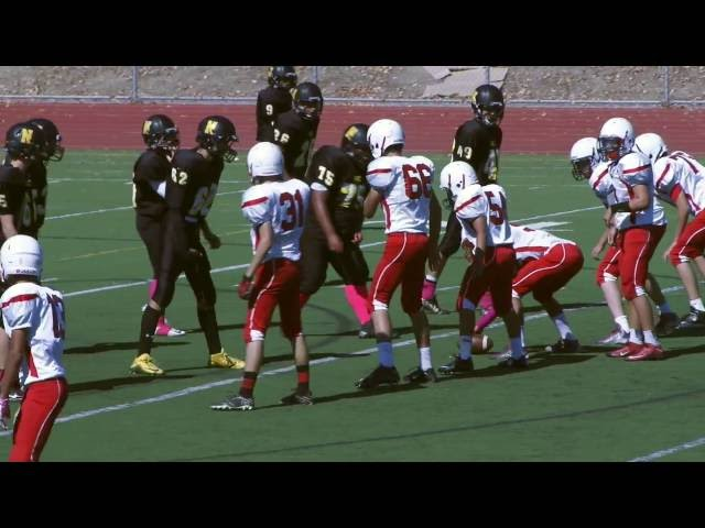 Game of the Week | RHS vs NHS | Frosh Football ( 10-03-2015 )