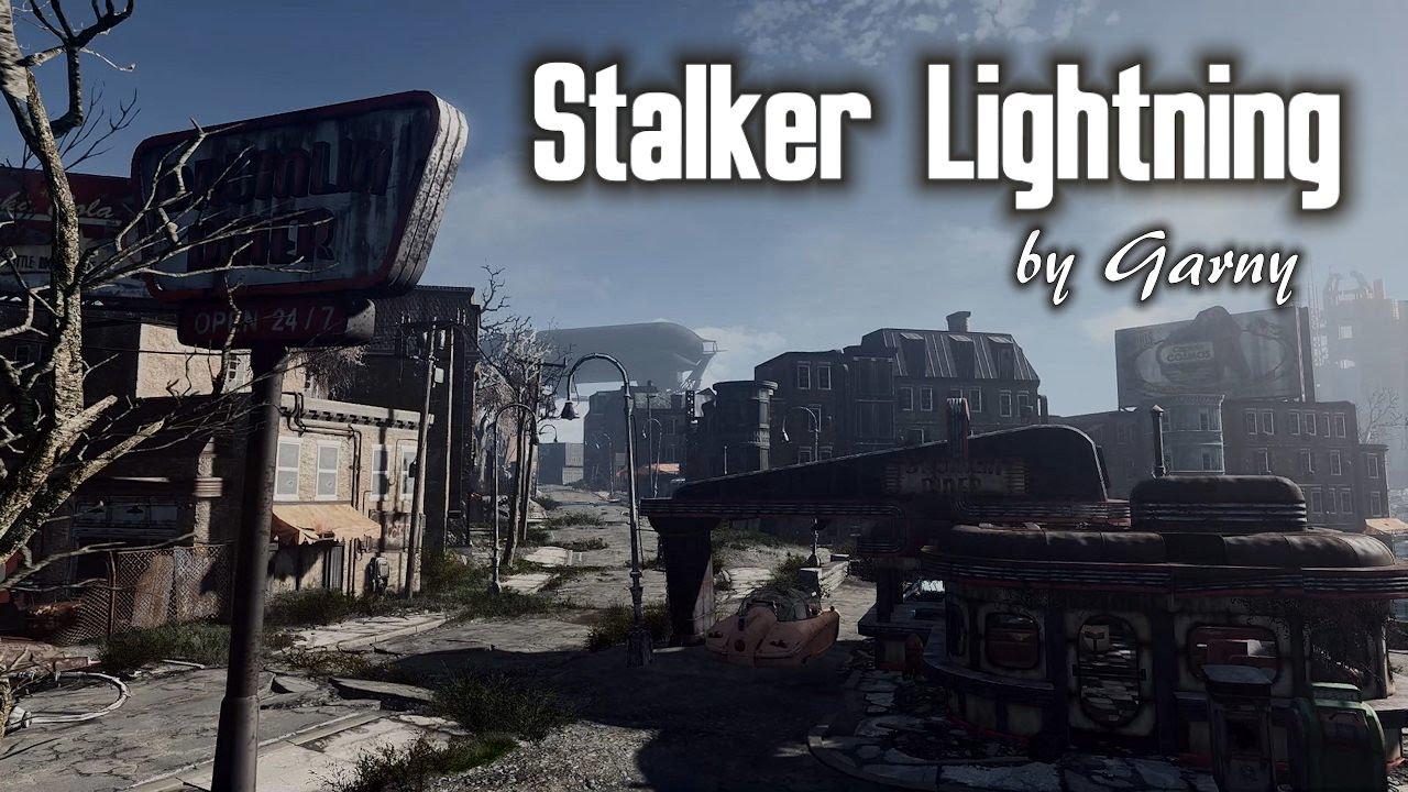 Fallout 4 Reshade Mod - Stalker Lightning