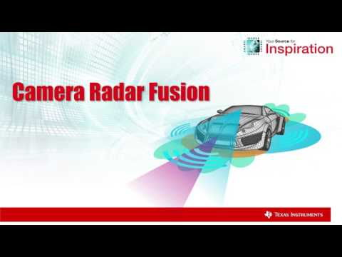 Texas Instruments Demonstration of Camera and Radar Fusion