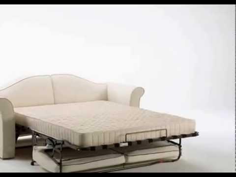 SizeDesign.it | BK Divani - Divano letto classico con materasso ...