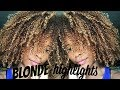 BLONDE HIGHLIGHTS ON MY NATURAL HAIR! SUNKISSEDCURLS