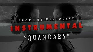 TRAP BEAT 2016 ★ HARD BASS RAP INSTRUMENTAL ★ QUANDARY [prod. by Diaboulik Beats]