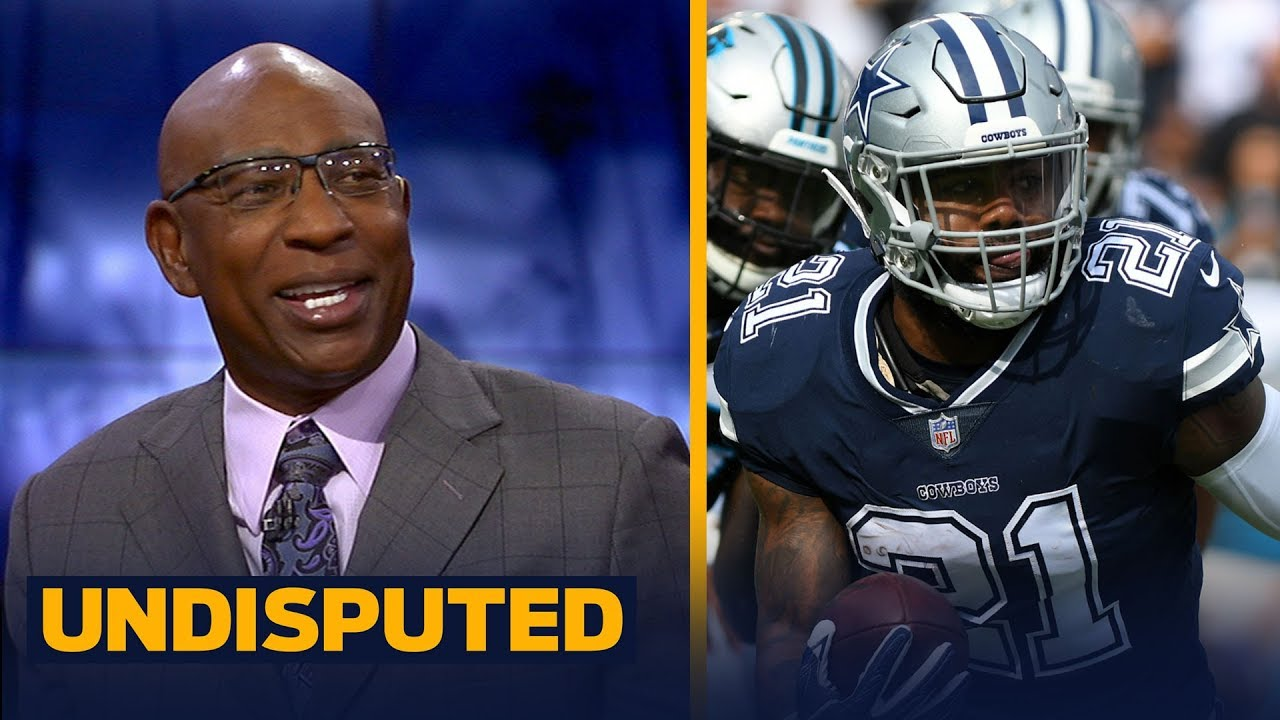 Eric Dickerson is taking the Cowboys over the Giants in Week 2 | NFL | UNDISPUTED