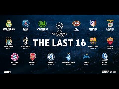 PREVIA SORTEO OCTAVOS DE FINAL UEFA CHAMPIONS LEAGUE 2015-16 | By SergioLiveHD