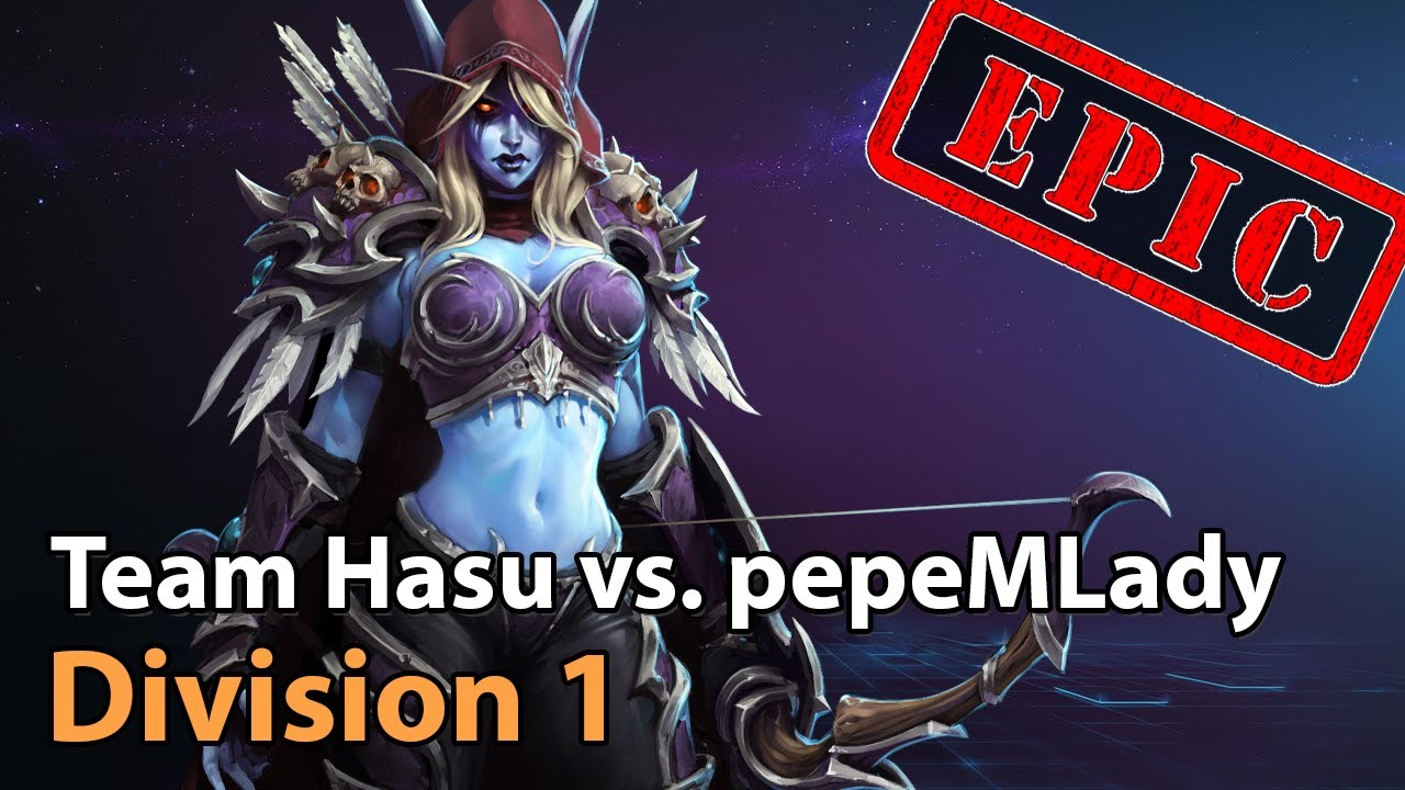 ► Team Hasu vs. pepeMLady - Division 1 HeroesLounge - Heroes of the Storm Esports