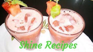 💐Ramazan Special 💐Watermelon Juice  बनाये Refreshing तरबूज़ का जूस मिनटो में