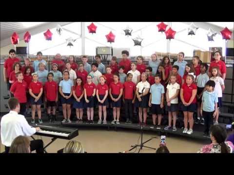 """""""Speed of Sound"""" Coldplay Plato Academy Seminole Chorus"""