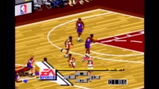 NBA Live 96 Top 10 Plays