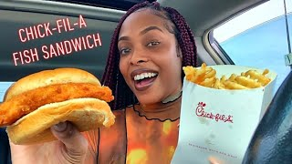 CHICK-FIL-A FISH SANDWICH | Food Review