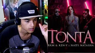 Rkm & Ken-Y ❌ Natti Natasha - Tonta [Official Video] Reaccion !