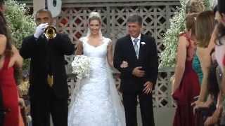Entrada da noiva_Pamella e João Marcelo_Ateneu Dom Bosco_Grupo Meldoy