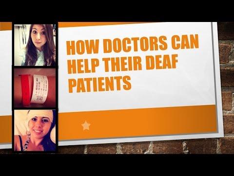 How Doctors Can Help Deaf Patients