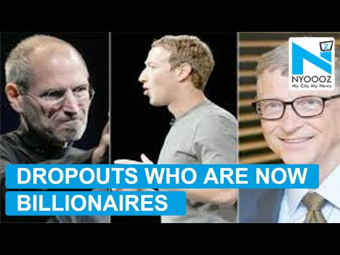 College Dropouts Who Became Billionaires | College Dropout Billionaires | NYOOOZ TV
