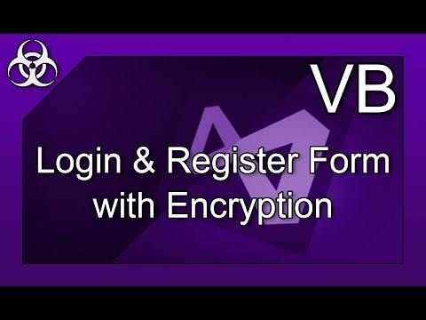 Safest Login Form with Encryption & Decryption & Email Notification in Visual Basic Tutorial
