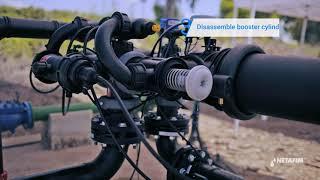 ALPHADISC™过滤器 - 冲洗阀维护|netafim