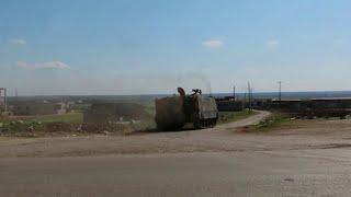 В Идлибе террористы с помощью турецких военных атаковали позиции сирийских войск.
