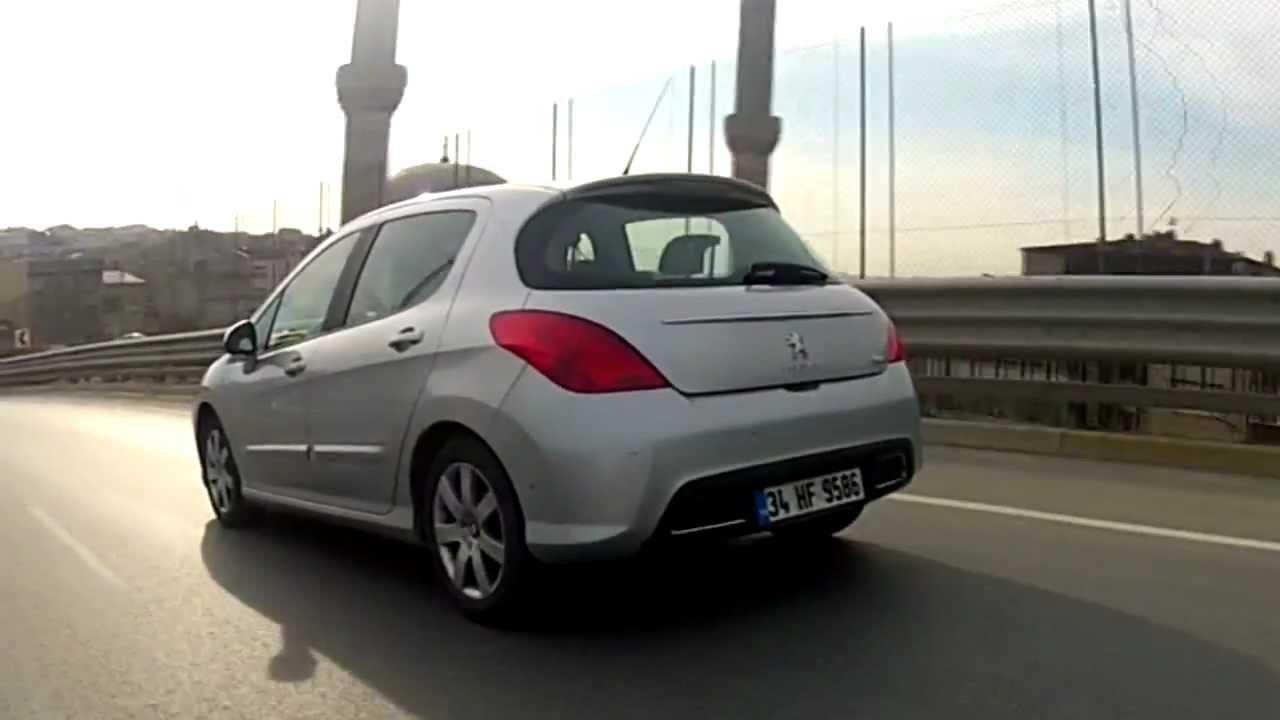 Peugeot 308 Thp Uzun D U00f6nem Testi      Ototest Tv